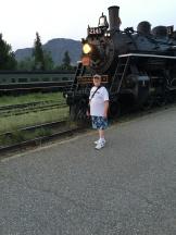 Laurie Ryan Steam Train 5